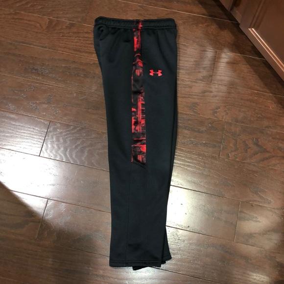 wyprzedaż w sklepie wyprzedażowym sklep internetowy Stany Zjednoczone Under Armour Coldgear pants black red M YMD